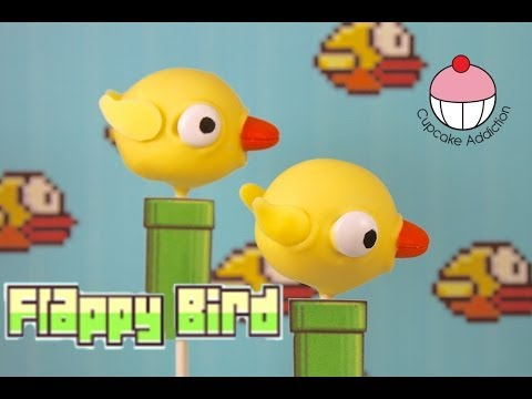 Flappy Bird Cake Pops! Beat the Game, by EATING IT! Edible Gaming By Cupcake Addiction