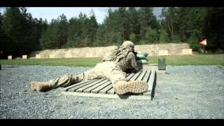 US Army Europe, 172nd Infantry, Multicam - M4 Rifle range