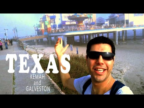 TEXAS - Kemah ve Galveston Trip