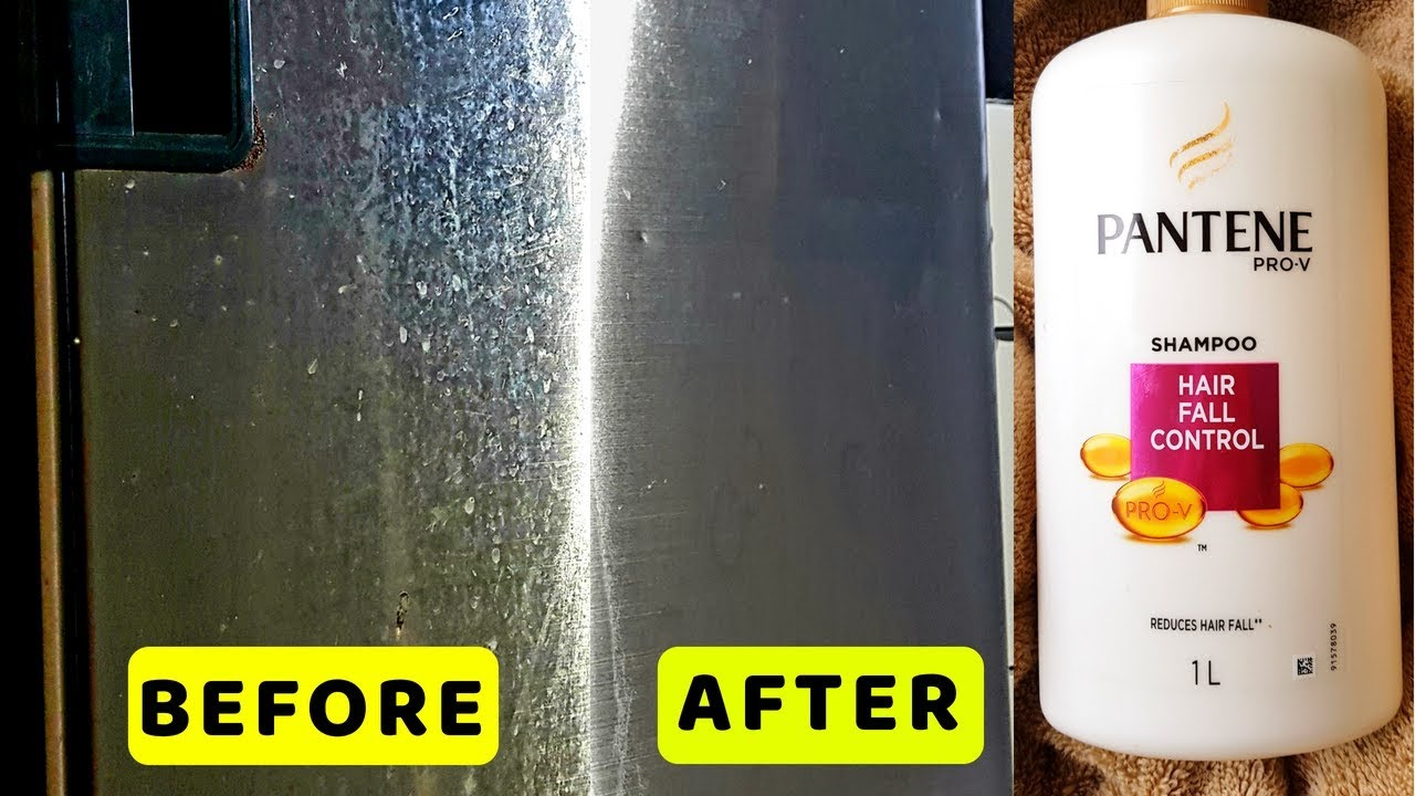 Remove Stain Marks Scratch From Refrigerator Door I How To