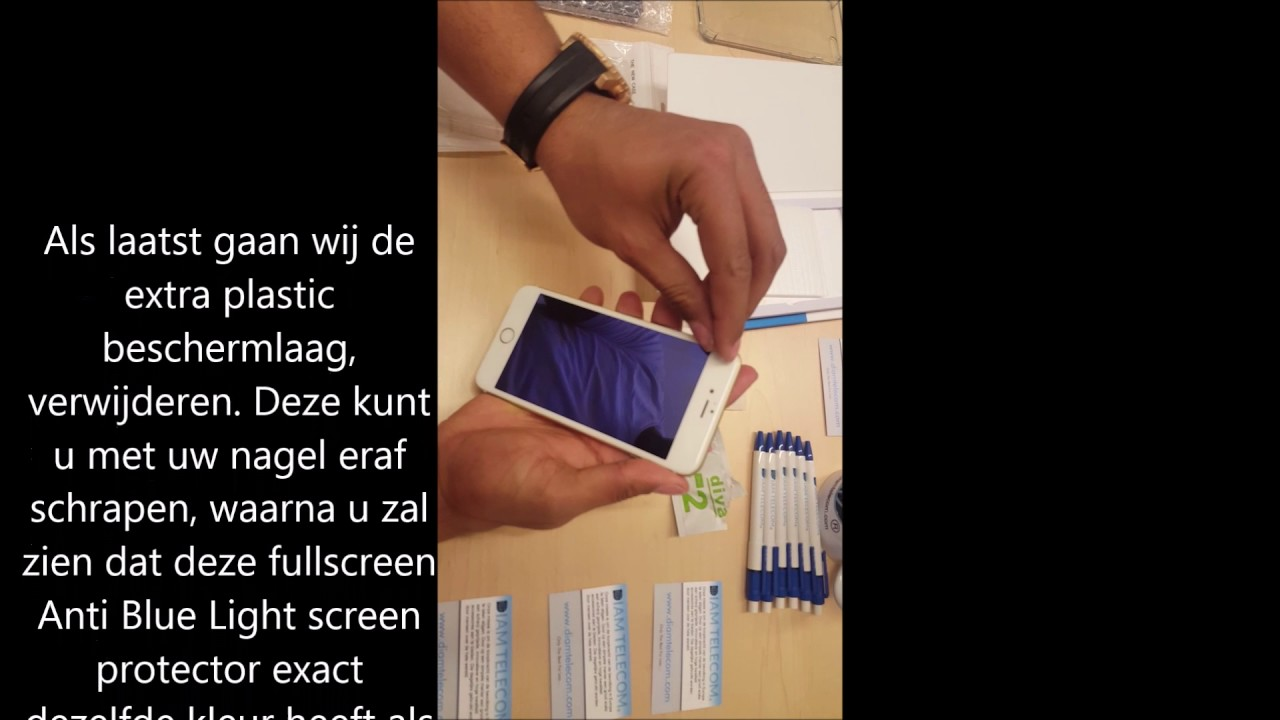 Diva Anti Blue light Screen protector Diamtelecom.com - YouTube