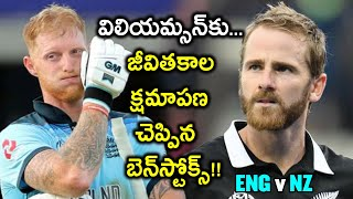 ICC Cricket World Cup 2019 Final:Ben Stokes Promoses To Apologise To Kane Williamson After The Match