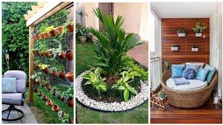 14 Ideias para Jardim Pequeno e simples para Casa e Apartamento YouTube