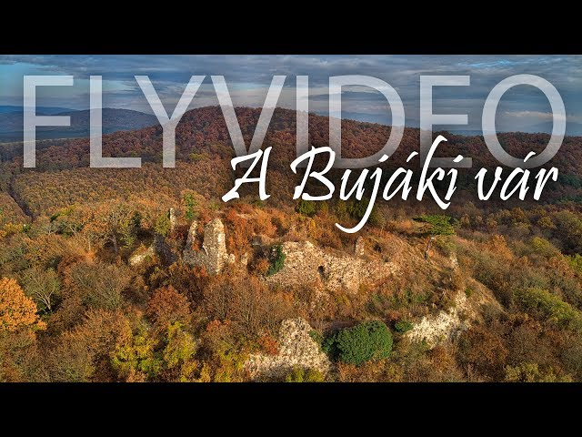 A Bujáki vár romjai őszi színekben – 2.7k – Flyvideo.hu