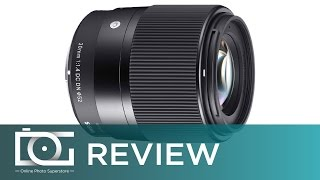 SIGMA 30mm f1.4 DC DN Contemporary Lens for SONY E Mount Mirrorless Camera  | REVIEW