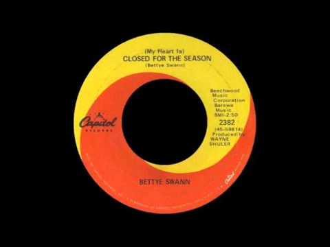 Bettye Swann -  My heart is Closed for the season