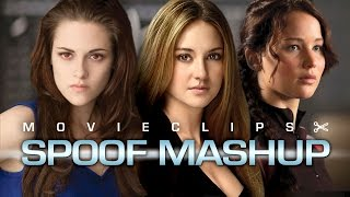 The Divergent Games Part 1 (2015) Young Adult Spoof Mashup HD