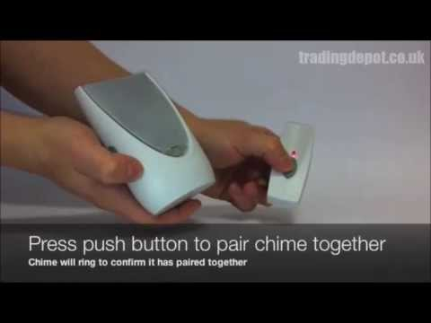 How to Set Up The Byron BY201F 100m Wireless Portable Battery Door Chime Strobe Kit