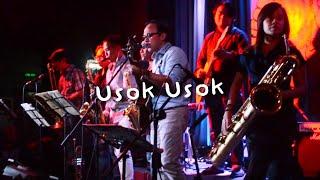"Noel Cabangon and Brass Pas Pas Pas performs ""Usok Usok"" LIVE at 70's Bistro"