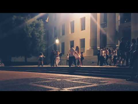 UC Berkeley Students Friday Dance Session..