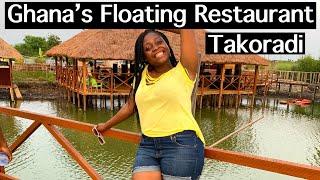 Visit THIS Floating Restaurant in Ghana - Takoradi -Aqua Makarios