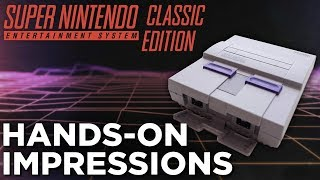 SNES CLASSIC: Hands-On Impressions & Star Fox 2 GAMEPLAY!