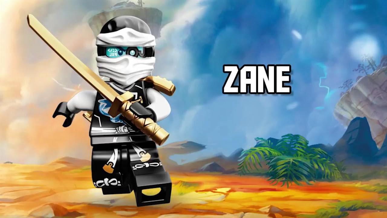 Zane Lego Ninjago Character Spot Youtube