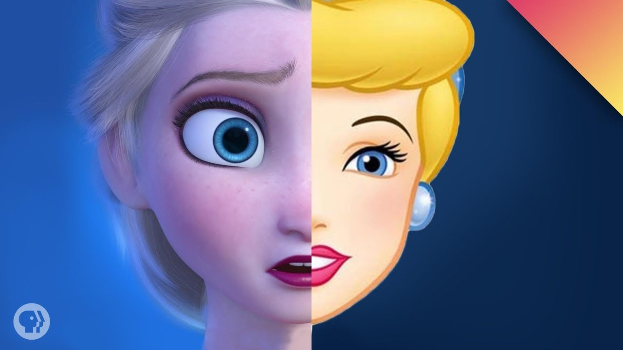Why Do Disney Princesses All Look Like Babies?