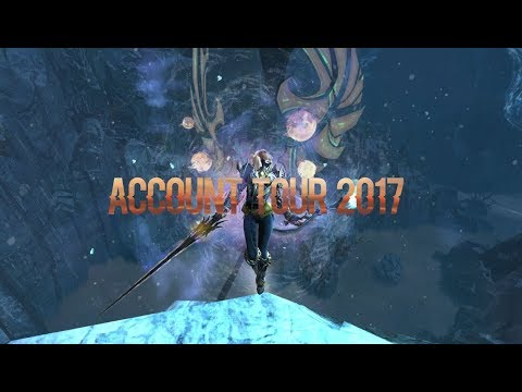 End of 2017 Guild Wars 2 Account Tour