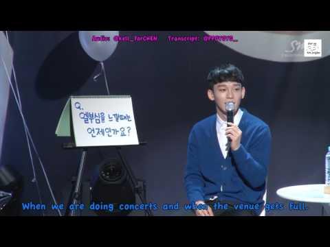 [ENG SUB/FULL AUDIO] 160921 EXO CHEN Birthday Party 2016 ft. Xiumin and Kai