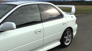 1999 Subaru Impreza WRX STI Version 6, 300HP Turbo boxer 2.0L, AWD, 5 speed manual, boost gauge