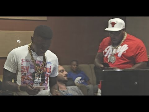 Lil Boosie studio session with King 15  records All new Louisiana Anthem