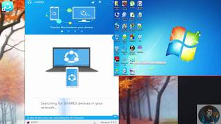 How to connect shareit to pc to pc | How to use Shareit on Pc