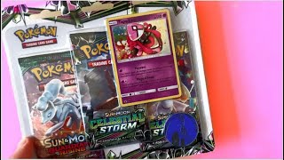 Pokemon Tapu Lele Celestial Storm Blister + 3 Boosters Opening!