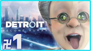 卍1【Detroit: Become Human】大人になったハーレイ君VSバーチャルおばあちゃん