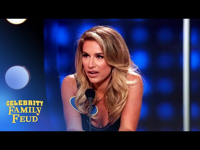 Here's how you know when someone is lying! | Celebrity Family Feud