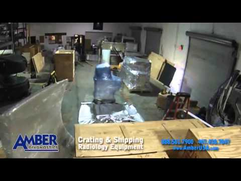 crating and shipping radiology equipment