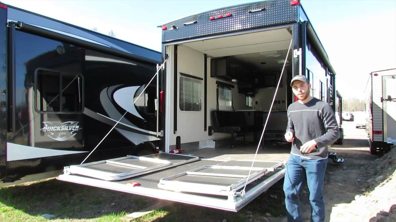 Diy Toy Hauler Ramp Patio Home Design