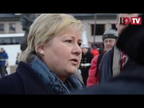 Erna Solberg interview on WWII anniversary