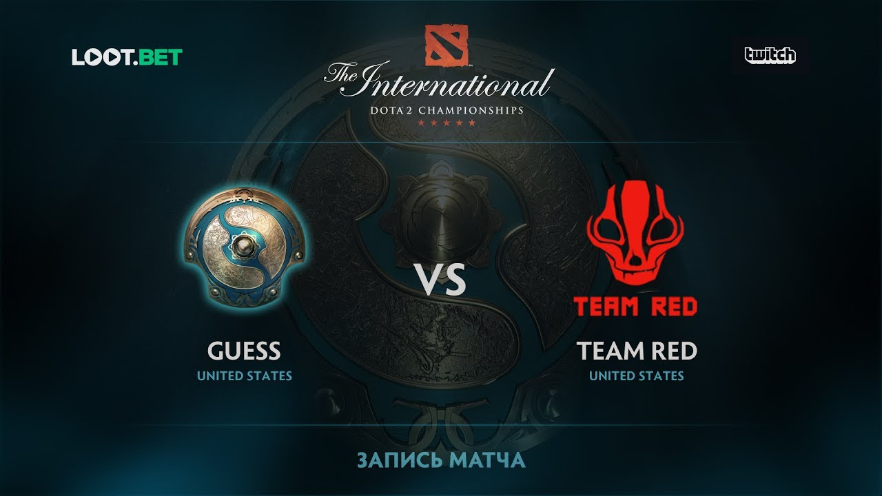Guess vs Team Red, The International 2017 NA Qualifier