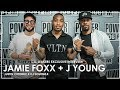 Jamie Foxx Talks Chris Brown & Drake, His Comedian Mt. Rushmore + Introduces His New Artist J Young