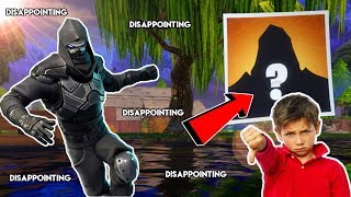 Le 'NEW' Secret Enforcer Skin Disappointed Me (Fortnite Battle Royale)