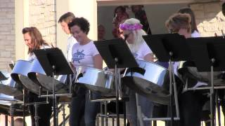 Monday Music on Main Street - Inside Out Steelband Wows Round Rock