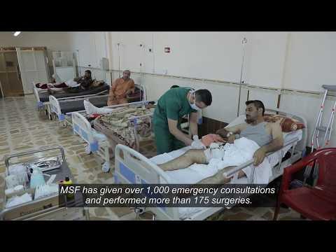 Iraq: Secondary surgery & post-operative care