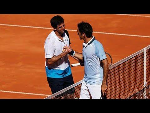 Roger Federer vs Federico Delbonis Hamburg 2013