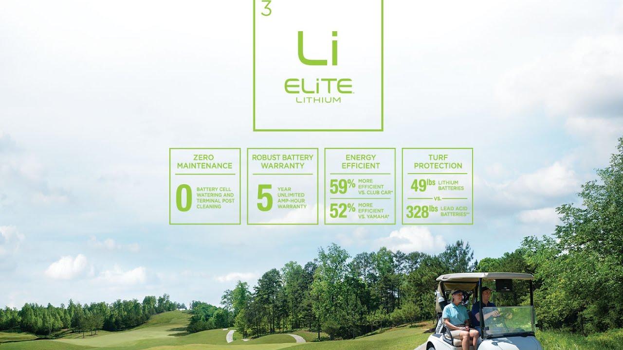 Introducing The New E Z Go Elite Lithium Series Youtube Com Electricezgo 927electricezgogolfcartwiringdiagramshtml