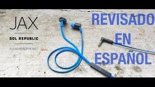 SOL REPUBLIC JAX i2 EN ESPAÑOL | EnriqueOnHz