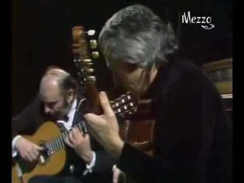 John Williams & Julian Bream: C.Debussy-Clair de Lune