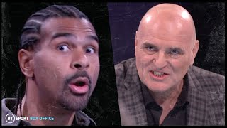 """Tyson makes him quit and cry!"" John Fury and David Haye argue about Wilder v Fury 2 tactics"