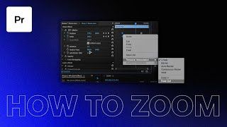 Find out  How to make video zoom in premiere pro | Guide for Beginners to learn How to make video zoom in premiere pro