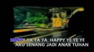 23/74. LAGU ANAK SEKOLAH MINGGU - Happy Ya Ya Ya Mp3