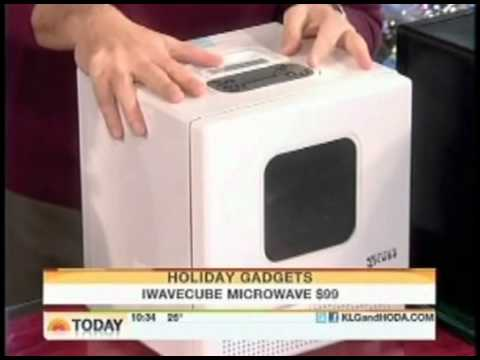 IWave Cube, the World's Smallest Compact Portable Microwave, as Featured on The Today Show