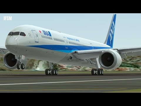 Infinite Flight Boeing B787 - 10 All Nippon Airways - KLAX - KSAN