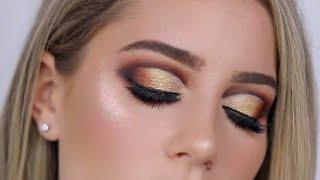 The Dark Side Palette - Gold Cut Crease Tutorial | MRS BELLA