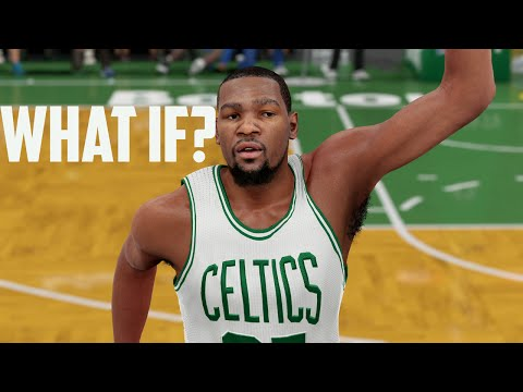 NBA 2K16: What If Kevin Durant Signs With The Boston Celtics?