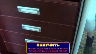 """Обзор шкафа-купе с ящиками на полновыкатных направляющих фирмы """"Hettich"""" с доводчиком!"""