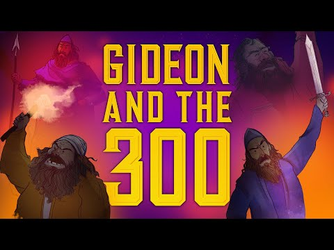 Sunday School Lesson - Gideon and the 300 Men - Judges 6 - Bible Teaching Stories for Christianity