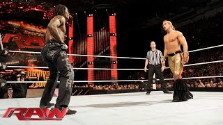 R-Truth vs. Tyler Breeze: Raw, November 16, 2015