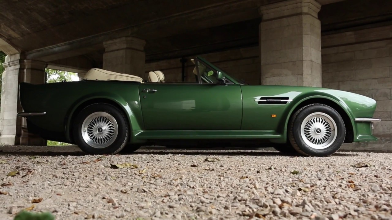 Aston Martin V8 Vantage Volante X Pack Nicholas Mee Co Ltd Youtube