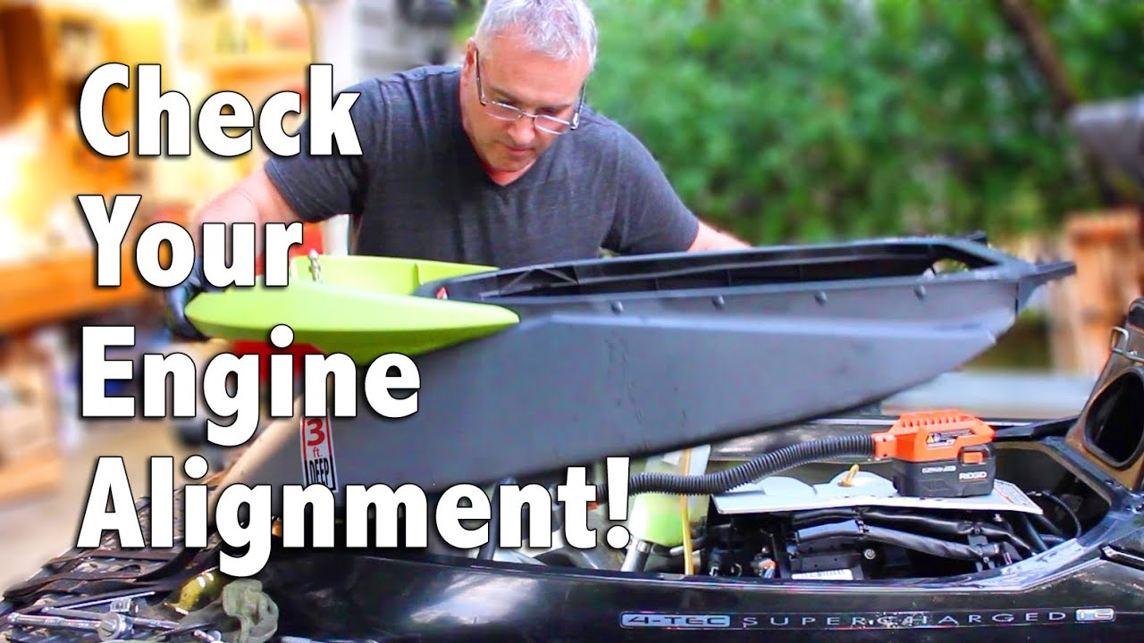 How To Check the Engine Alignment on Your Sea-Doo PWC – Watercraft TV